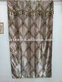 100% de poliéster jacquard cortina de diseño para la fábrica de cenefas cortina