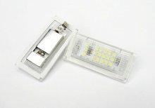 LED License Plate Light E46 3-series 4dr 320i 323i 325i xi 330i