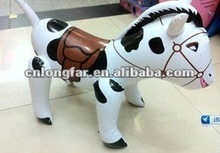 factory lovely plastic pvc inflatable horse'.