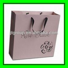 custom logo ribbon handle Ribbon Band gift bags