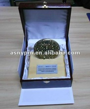 Trophy Medal Metal with wooden gift box