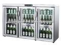 Contador - topo cooler, porta de vidro de cerveja mini frigobar