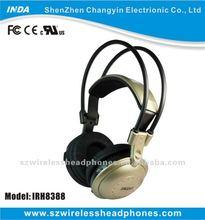 40mm mylar speaker IR/infrare technology At home wireless headphone/earphone IRH8388