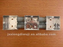 35mm Depth BS CONDUIT BOX/JUNCTION BOX for 3 GANG