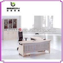 2012 L-shape wooden office table design executive LS-022