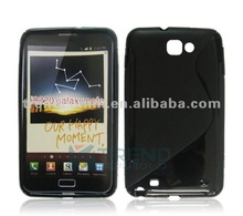 2tone color TPU case for Samsung galaxy S2