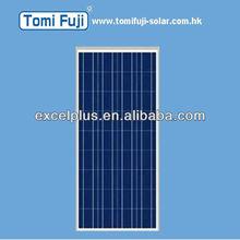 PV 130w poly solar module (TUV) for solar light system