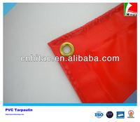 18oz Vinyl Coated Red PVC Tarpaulin For Truck Cover