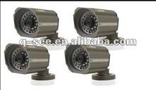 Sony Color CCD 420TVL Infrared LED Security Surveillance Box Camera 4PK