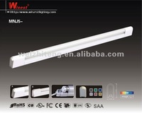 T5 28w single tube SAA CE ROHS KS fluorescent paint lamp with cover