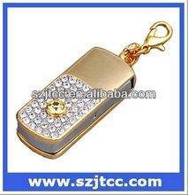 Diamond Lanyard USB Flash Drive Jewelry Diamond USB Flash Drive Bulk 1GB USB Flash Drives