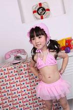 sexy girl children summer swimsuit pink bikini for baby girl kid designer swimsuits