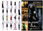 kids beautiful model dresses chrome child mannequin