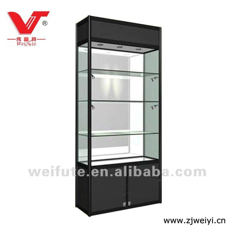Cristal estante de exhibición para boutiqueOtros Muebles de madera