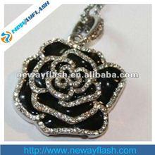 new jewel rose usb flash drive