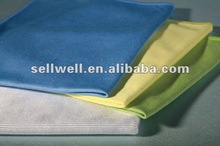 Absorbent microfiber eyeglass cloth