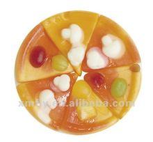 fruit flavour Pizza Shape Gummy candy