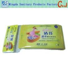 promotional refreshing OEM wet wipe tissue