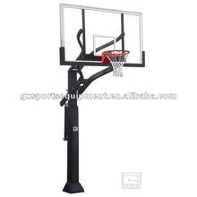 Inground adjustable basketball hoop/stand/system