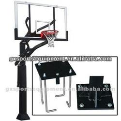 Inground adjustable basketball hoops/stands/system