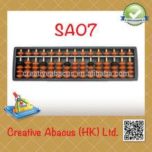 15 Rods Plastic Student Soroban Abacus