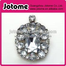 Good quality decorative silver rhinestone buckle for wedding chair sash and silk