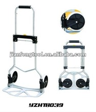 steel frame with 2wheels folding hand truck presents