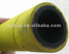 yellow garden hose rubber