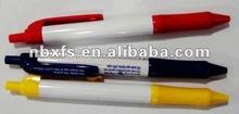 plastic ball pen popular promotion pen