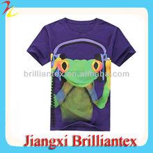 Custom Cute Printing 3D T Shirt/T-Shirts For Girls Nanchang Factory