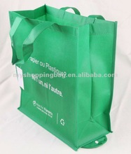 Fold Reusable Grocery Tote Bag Large 10 Pack /PP Reusable Nonwoven bag