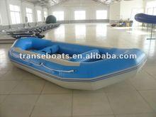 self-bailing 8persons korea pvc inflatable raft
