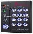 In/id controle de acesso único, leitor de cartão magnético gar-4008a