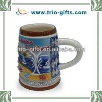 Ceramic toothpicks cup for houseware porcelain crafts