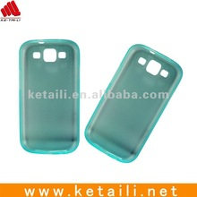 Pure TPU Phone case for samsung galaxy S3 i9300