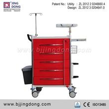 Best Price Quality CE / FDA Hospital Ward Crash / Emergency Cart / Trolley with Seals Lock