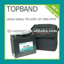 2012 new product for European!!! Rechargeable solar storage battery 12V 20Ah