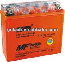 motorcycle battery 12N7BL-BS 12v 7ah