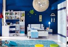 promotional colourful panel children bedroom set 38a019