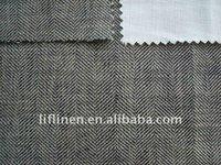 buy 100% linen yarn dyed herringbone fabric sofa fabric