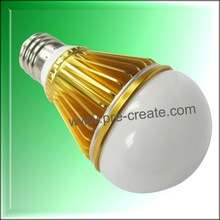 High Brightness E27 5W LED Bulb in Golden Color Body with Factory Price