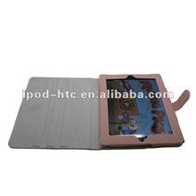 Fashionable - Soft PU leather cover case for 9.7 inch tablet