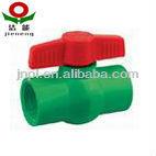 PPR plastic ball valve / plastic ball valve / Long lifetime ball valve