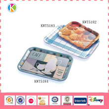Food safety plastic 100% melamine serving tray