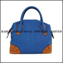 2014 tote leather structured leather bag elegant bag trendy latest ladies handbags