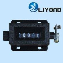 five digits mechanical counter