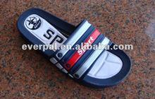 pvc foam men sandal slipper summer casual flat shoe 2012