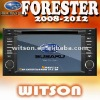 WITSON double din car dvd player for SUBARU FORESTER with Radio RDS function