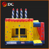 Attractive Delicate Square Inflatable House Slide