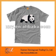 Popular Compressed Printing 98% Cotton 2% Spandex Tshirt